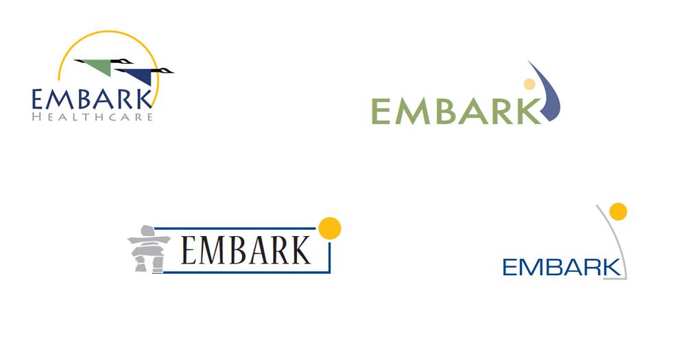 C. Laurin Arts - Embark Logo Story