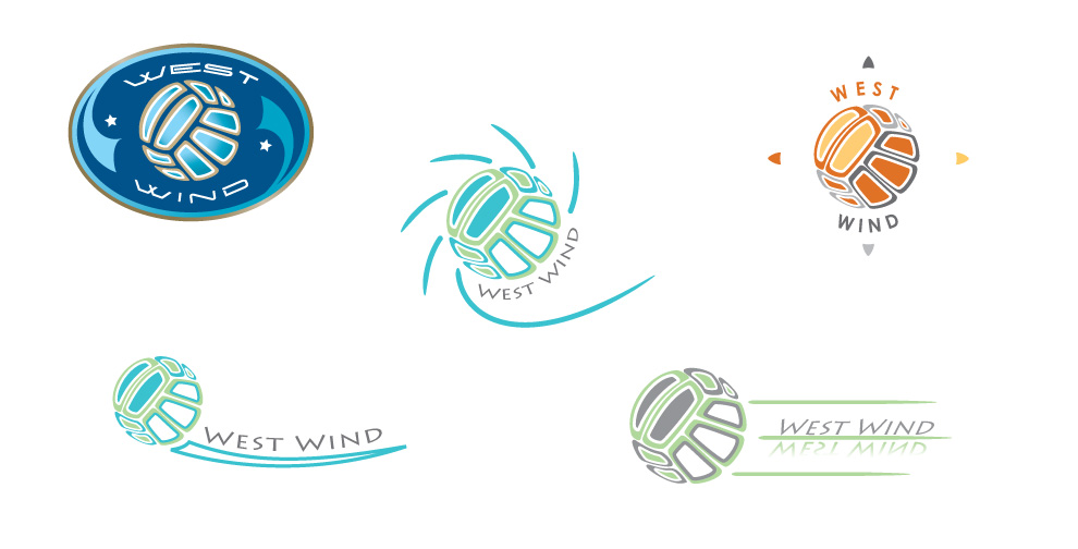 C. Laurin - West Wind Logo Story